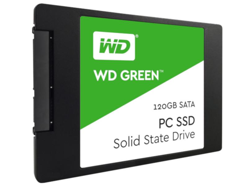 Твердотельный накопитель Western Digital WD 120Gb Green WDS120G2G0A Выгодный набор + серт. 200Р!!!