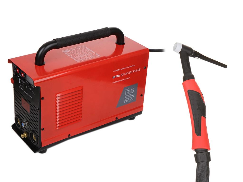 Сварочный аппарат Fubag Irtig 200 AC/DC Pulse + горелка FB TIG 26 5P 4m 31564.1