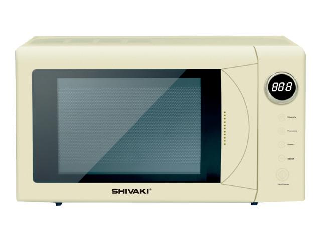 Фото - Микроволновая печь Shivaki SMW2036EBG холодильник shivaki sdr 082s