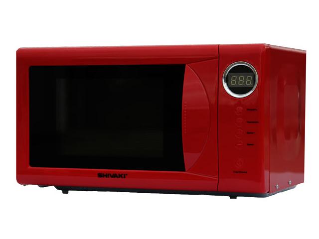 Микроволновая печь Shivaki SMW2036ER микроволновая печь свч shivaki smw2036ebg бежевый