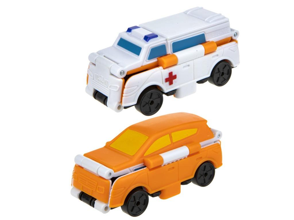 Скорая помощь-кроссовер 1Toy Transcar Double Т18288
