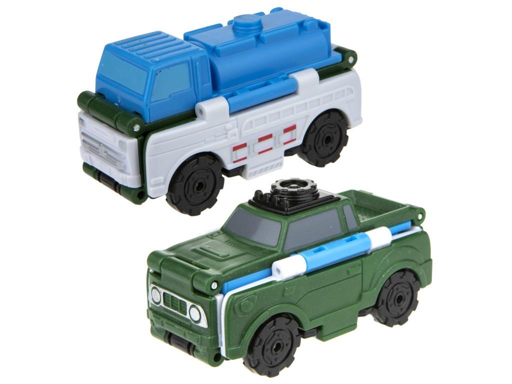 Автоцистерна-внедорожник 1Toy Transcar Double Т18285