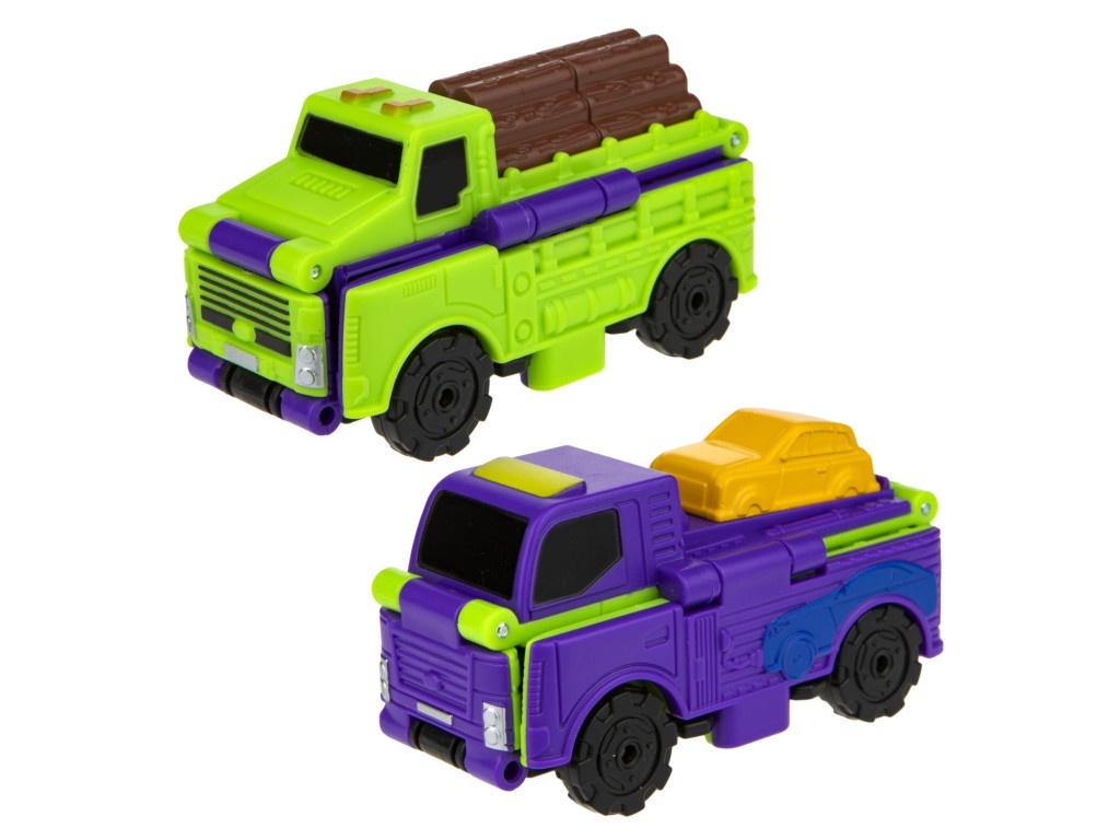 Лесовоз-автовоз 1Toy Transcar Double Т18283
