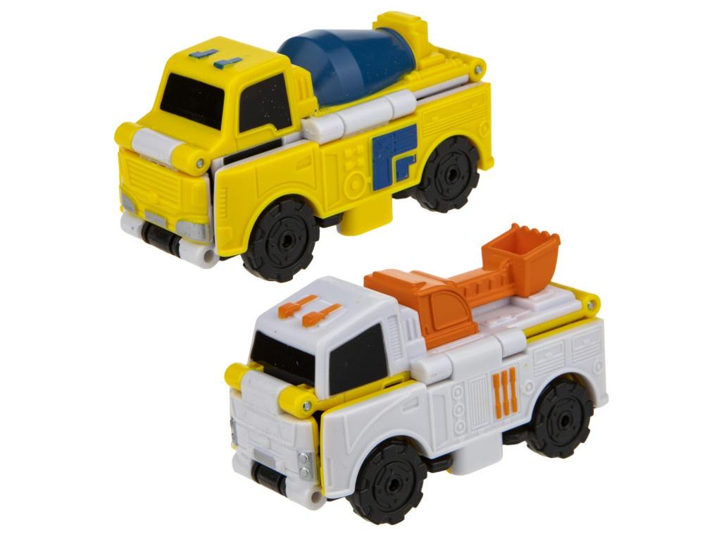 Бетономешалка-экскаватор 1Toy Transcar Double Т18278