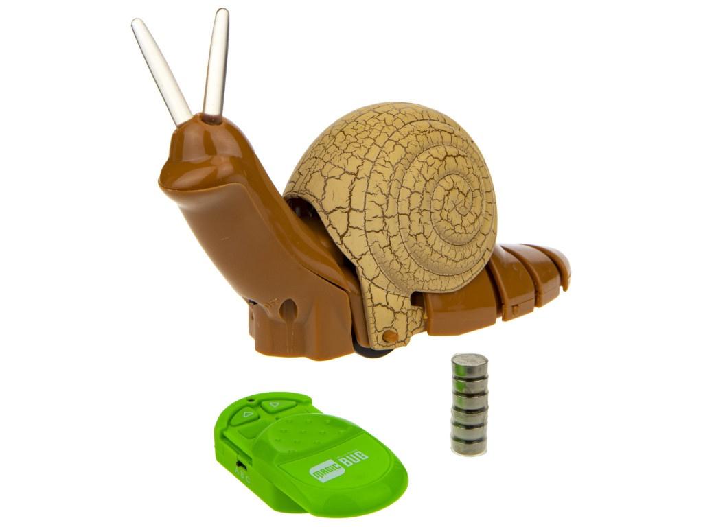 Радиоуправляемая игрушка 1Toy RoboLife Робо-Улитка Т18749