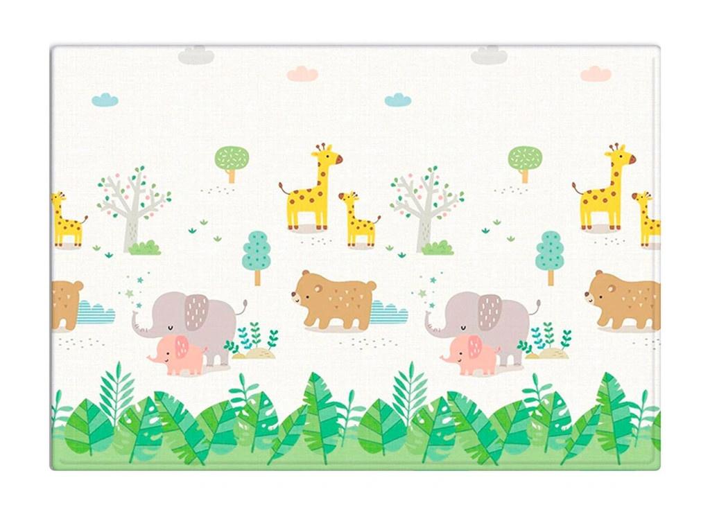 Развивающий коврик Mambobaby Soft Family Односторонний 190х130х1см