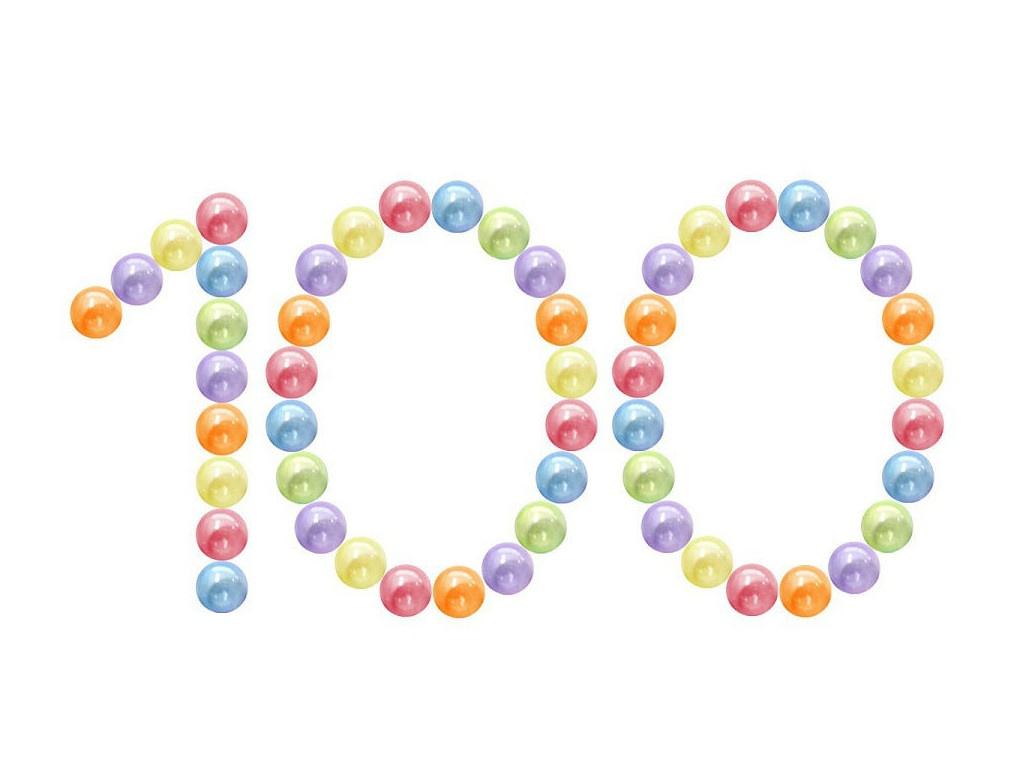 Игровой центр Юг-Пласт Набор шариков Bubble Gum 5см 100шт 2018 Transparent
