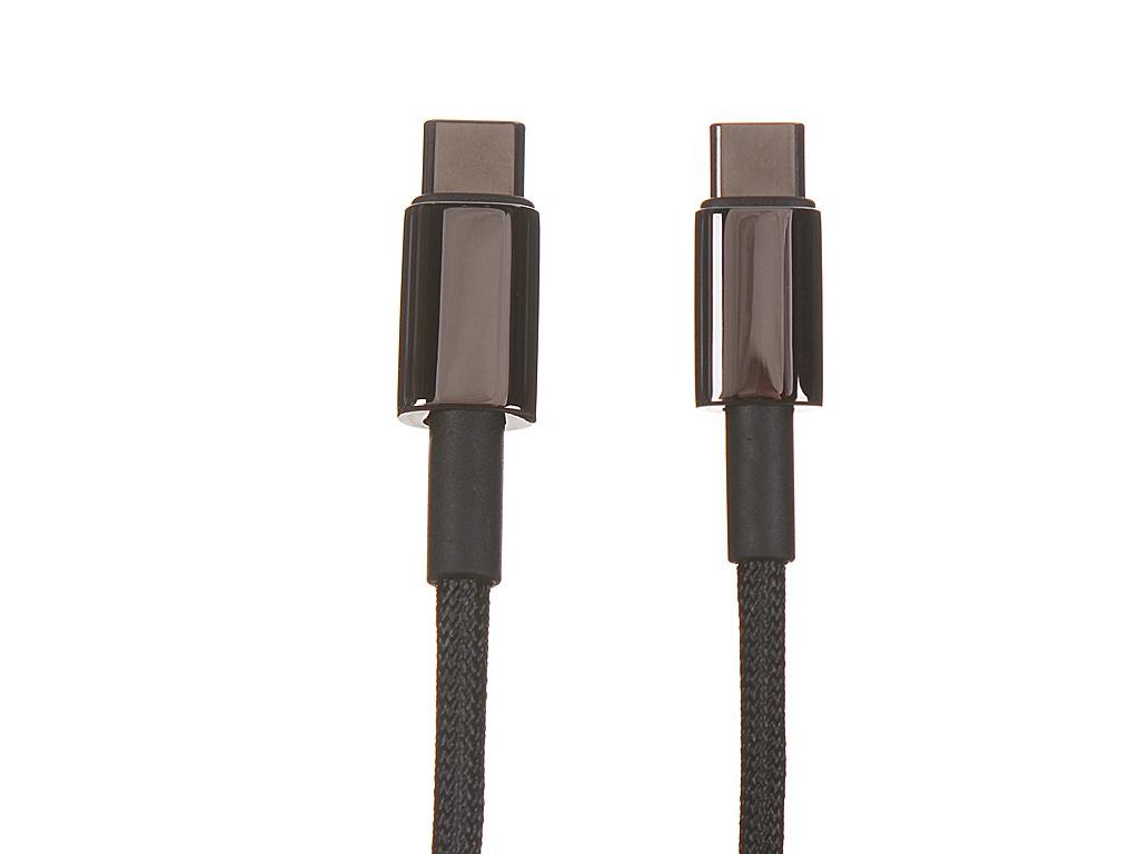 Фото - Аксессуар Baseus Tungsten Gold USB Type-C - USB Type-C 1m Black CATWJ-01 хаб usb baseus armor age type c cahub aj0g