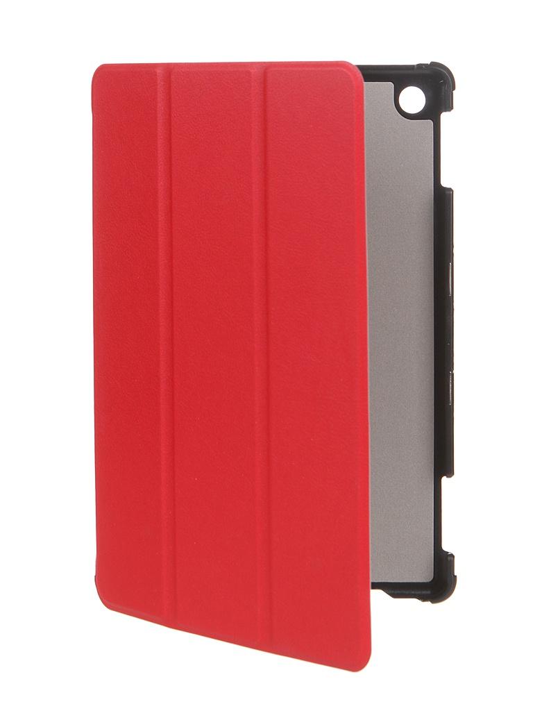 Чехол Zibelino для Huawei MediaPad M5 Lite 10.1 Tablet с магнитом Red ZT-HUA-M5-LIT-10.1-RED