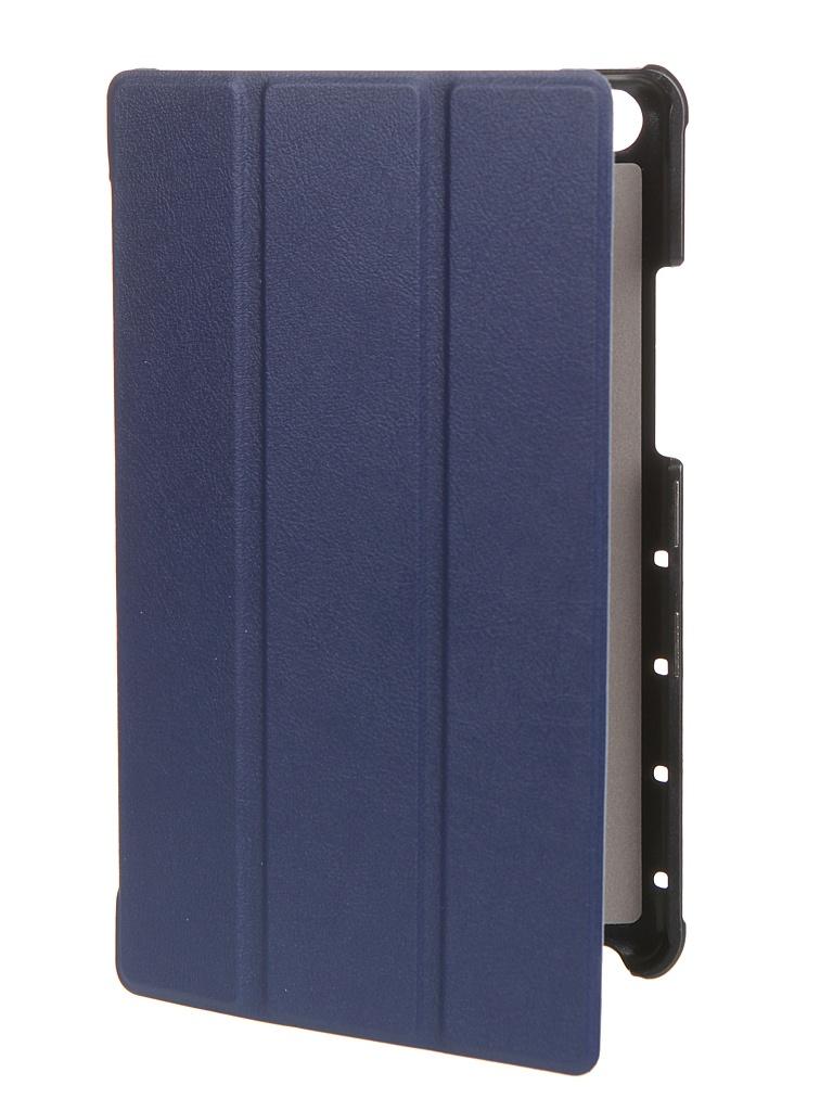 Чехол Zibelino для Huawei MediaPad M5 Lite 8.0 Tablet с магнитом Blue ZT-HUA-M5-LIT-8.0-BLU