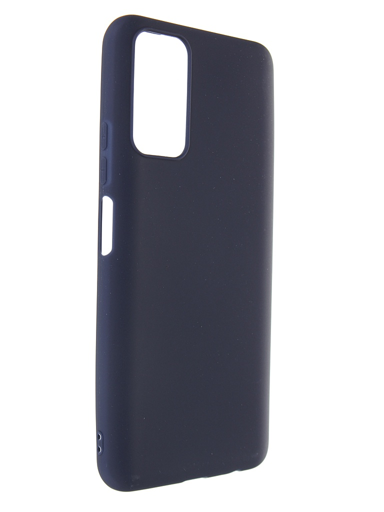 Чехол Zibelino для Honor 10X Lite Soft Matte Blue ZSM-HON-10X-LITE-BLU