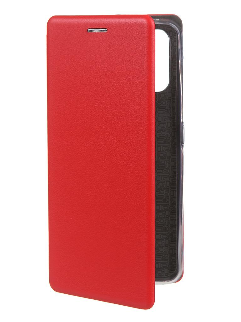 Чехол Zibelino для Realme 7 Pro Book Red ZB-RLM-7-PRO-RED