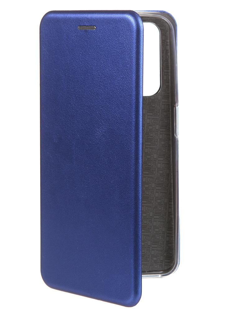 Фото - Чехол Zibelino для Realme 7 Book Blue ZB-RLM-7-BLU чехол zibelino для realme 5 6i c3 book emerald zb rlm 5 eml
