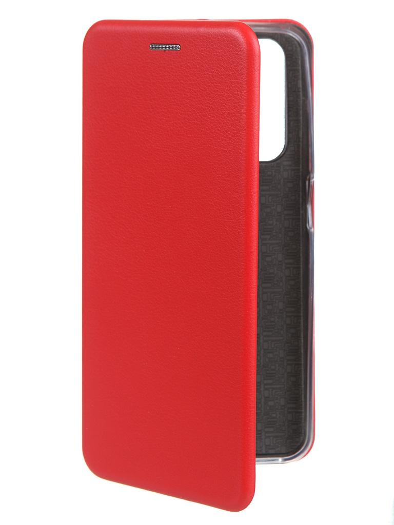 Фото - Чехол Zibelino для Realme 7 Book Red ZB-RLM-7-RED чехол zibelino для realme 5 6i c3 book emerald zb rlm 5 eml