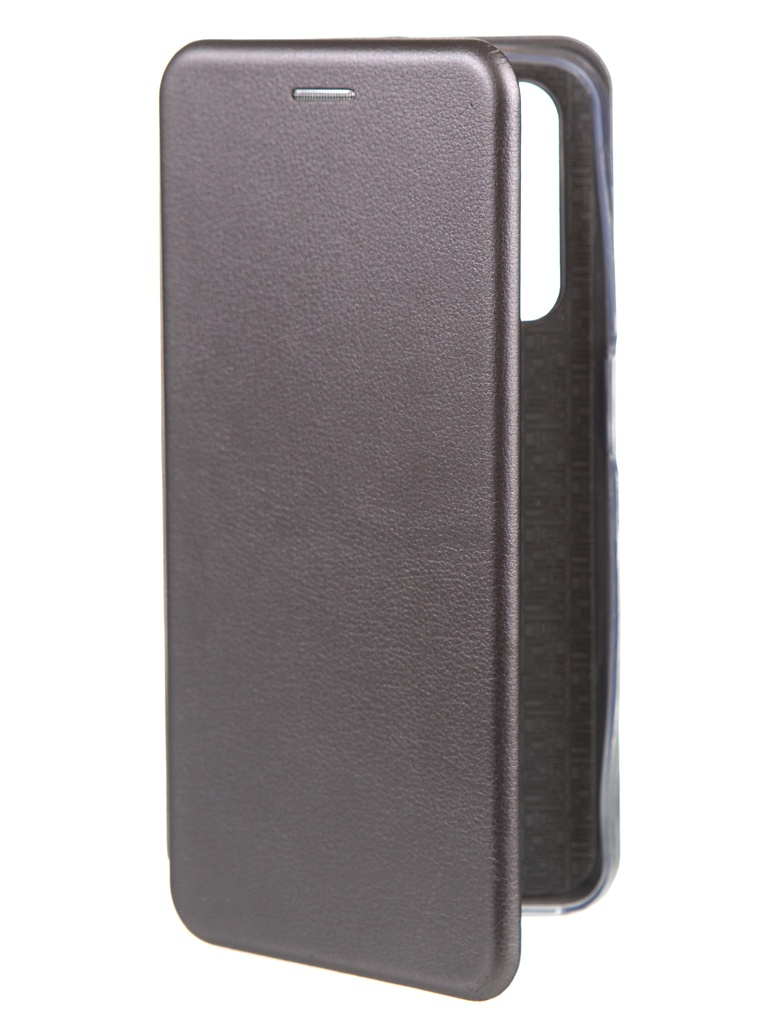 Фото - Чехол Zibelino для Realme 7 Book Platinum Gray ZB-RLM-7-GRY чехол zibelino для realme 5 6i c3 book emerald zb rlm 5 eml