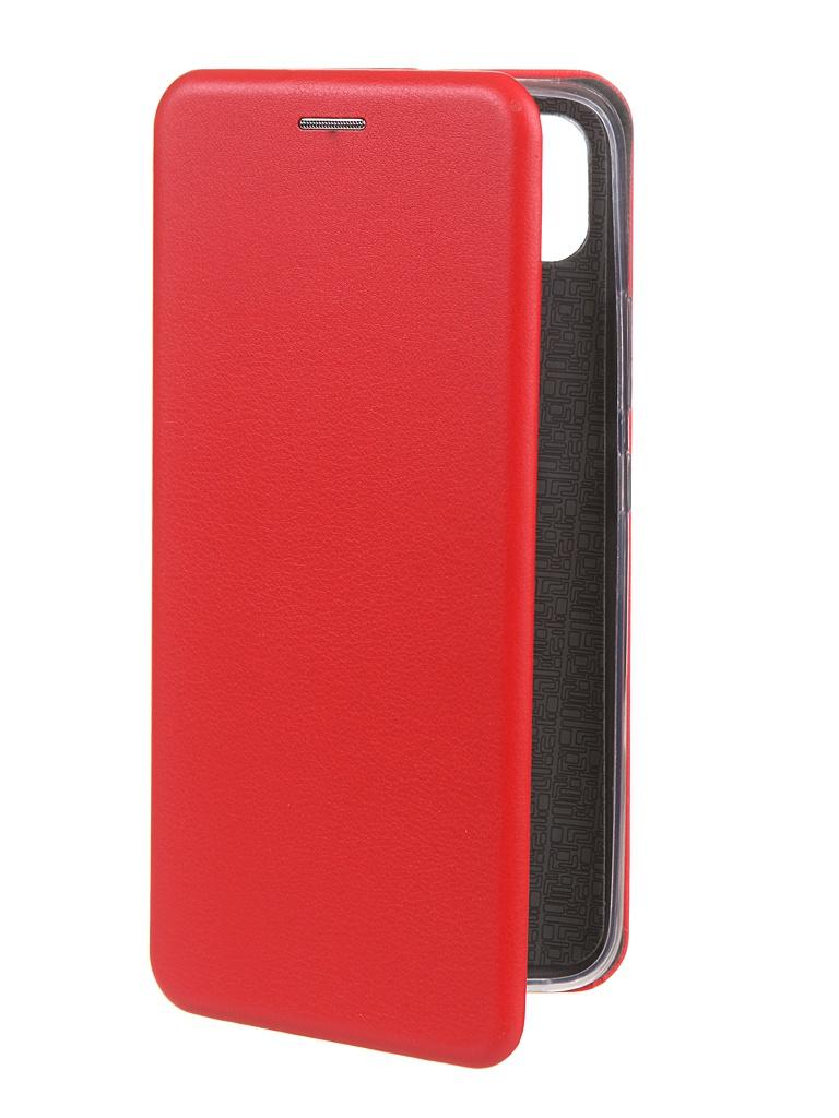 Фото - Чехол Zibelino для Realme C11 Book Red ZB-RLM-C11-RED чехол zibelino для realme 5 6i c3 book emerald zb rlm 5 eml