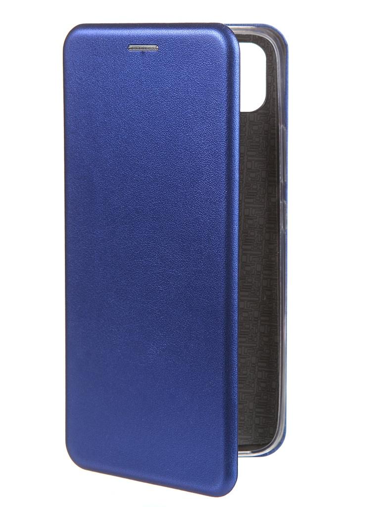 Фото - Чехол Zibelino для Realme C11 Book Blue ZB-RLM-C11-BLU чехол zibelino для realme 5 6i c3 book emerald zb rlm 5 eml