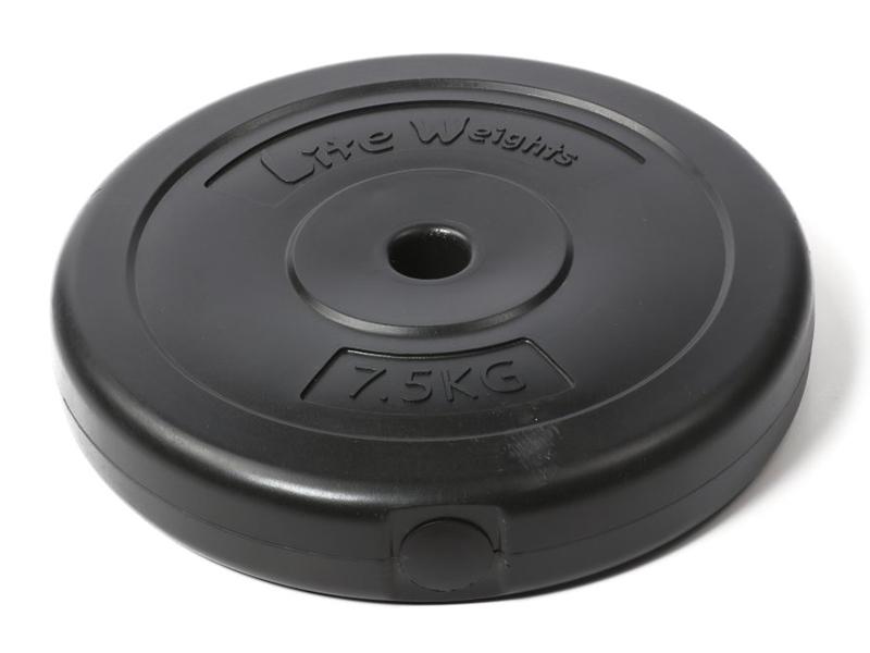Диск пластиковый Lite Weights 1084LW 26mm 7.5kg