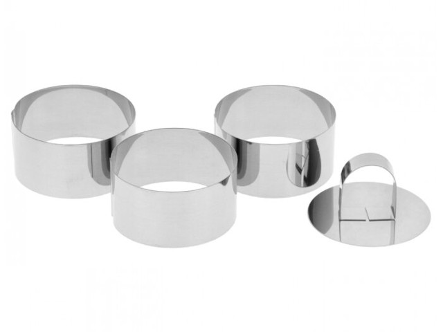 Набор форм для моделирования Доляна Кольцо 8x4cm 3шт 1137980