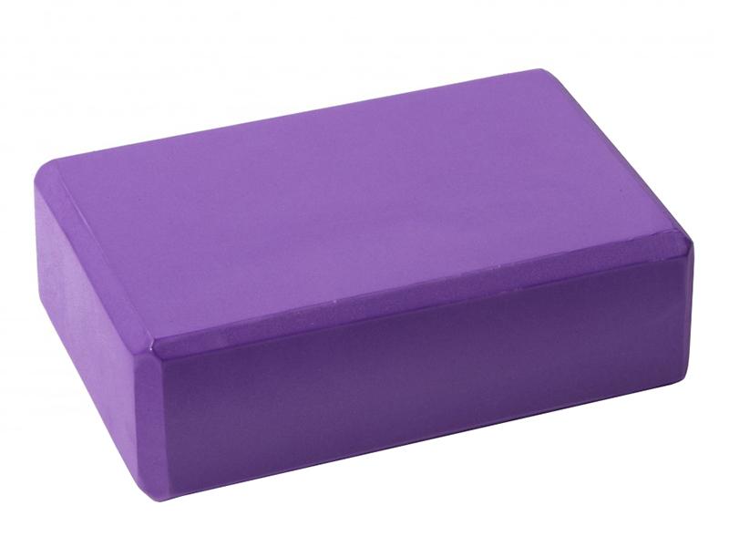 Блок для йоги Lite Weights Purple 5496LW блок для йоги lite weights light blue 5494lw