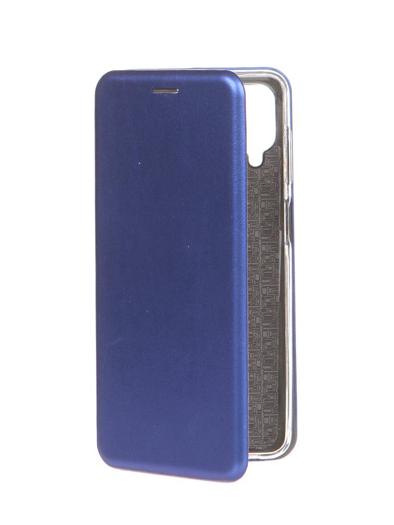 Чехол Innovation для Samsung Galaxy A12 Book Blue 19565 чехол innovation для samsung galaxy a3 core book blue 19551