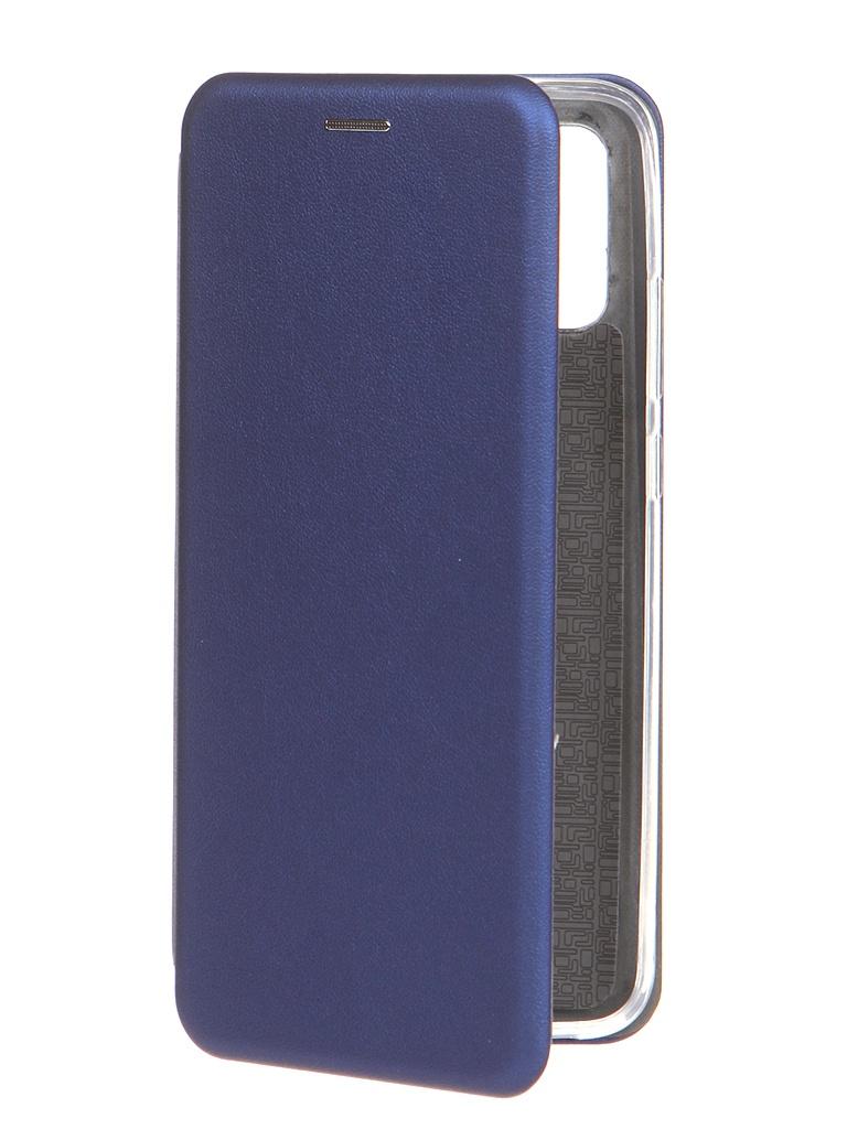 Чехол Innovation для Samsung Galaxy A02S Book Blue 19558 чехол innovation для samsung galaxy a3 core book blue 19551