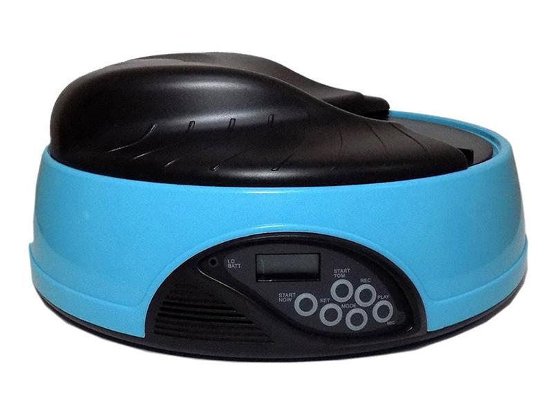 Автоматическая кормушка Автокормушка Sititek Pets Ice Mini Light Blue 70000