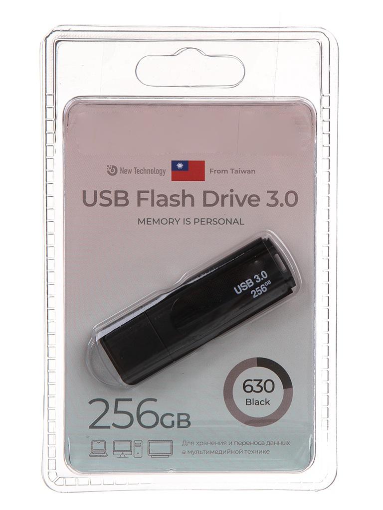USB Flash Drive 256Gb - Exployd 630 EX-256GB-630-Black
