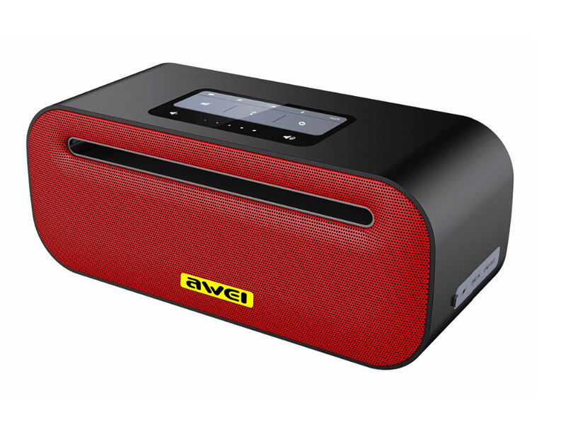 awei ak8 red black Колонка Awei Y600 Red