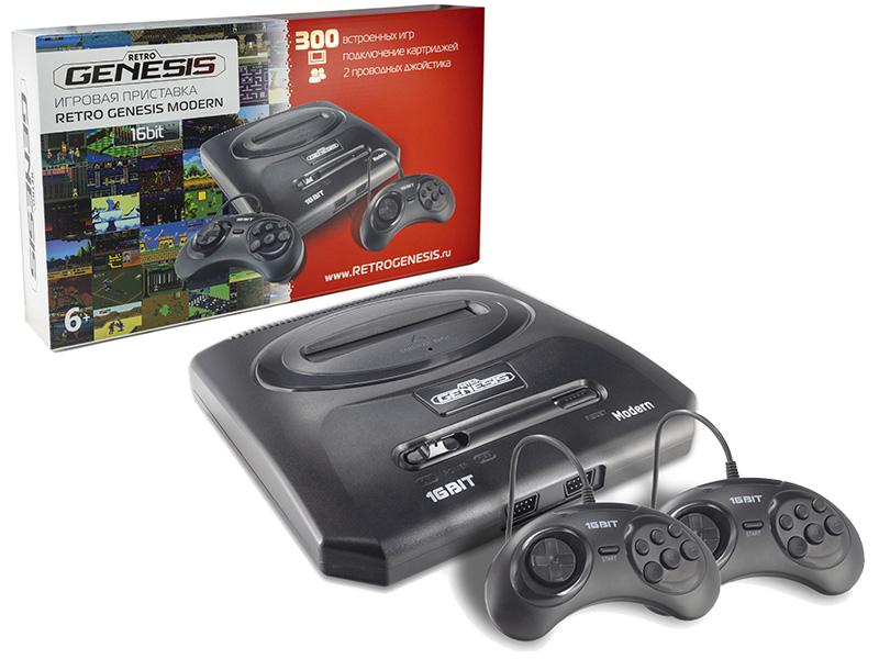 Игровая приставка Retro Genesis Modern + 300 игр 2 джойстика ZD-04a