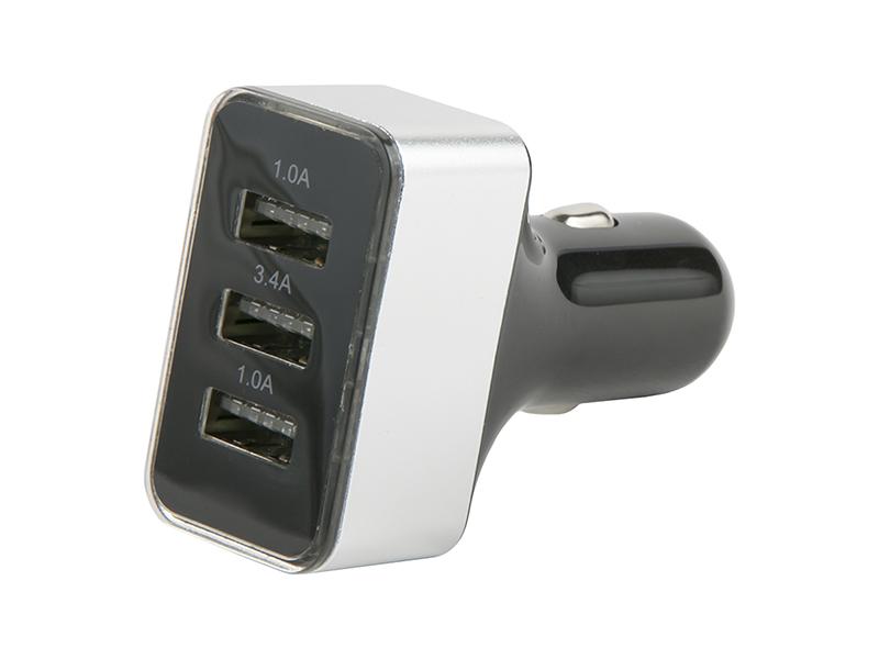 Зарядное устройство Red Line АС-13 Lite Tech 3 USB-A Silver УТ000023702