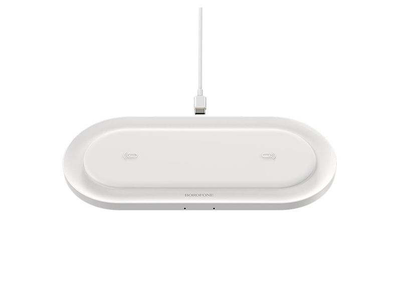 Зарядное устройство Borofone BQ7 Prominent 2A White 6931474733108