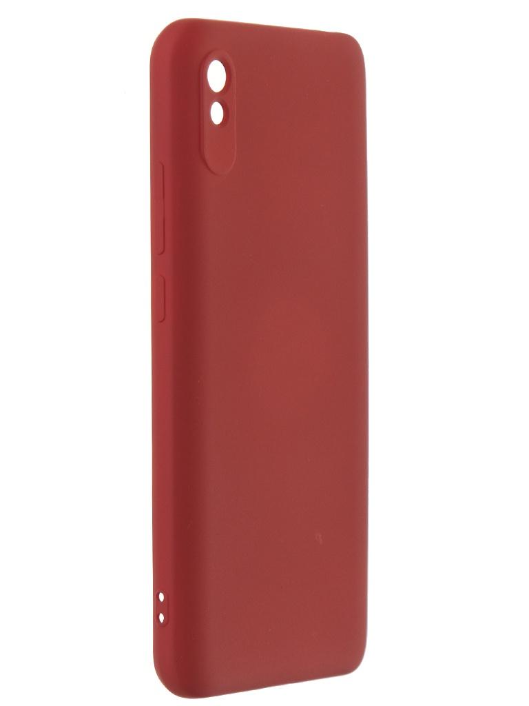 Чехол Activ для Xiaomi Redmi 9A/Redmi 9i Full OriginalDesign Bordo 119466