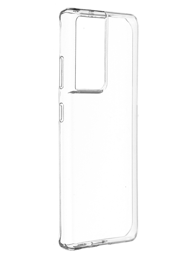 Чехол-накладка Brosco для Samsung Galaxy S21 Ultra SS-S21U-TPU-TRANSPARENT