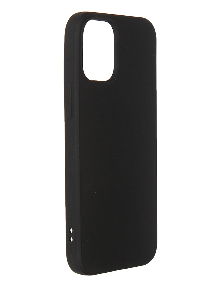Чехол Svekla для APPLE iPhone 12 Mini Silicone Black SV-AP12PMINI-MBL