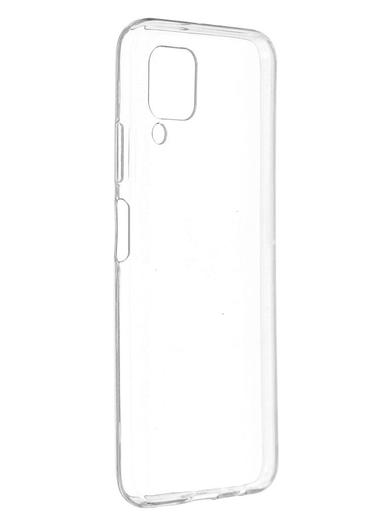 Чехол Svekla для Huawei P40 Lite Silicone Transparent SV-SGHWP40LITE-WH