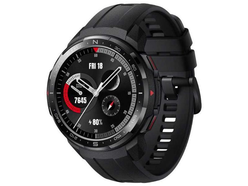 Умные часы Honor Watch GS Pro KAN-B19 Black 55026084 Выгодный набор + серт. 200Р!!! умные часы honor watch magic lava black