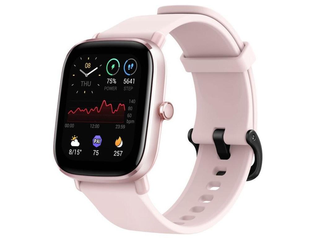 Умные часы Xiaomi Amazfit A2018 GTS 2 Mini Flamingo Pink Выгодный набор + серт. 200Р!!!