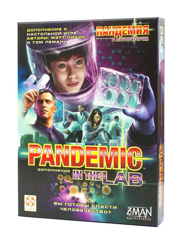 Настольная игра Стиль жизни Пандемия В лаборатории БП-00000412