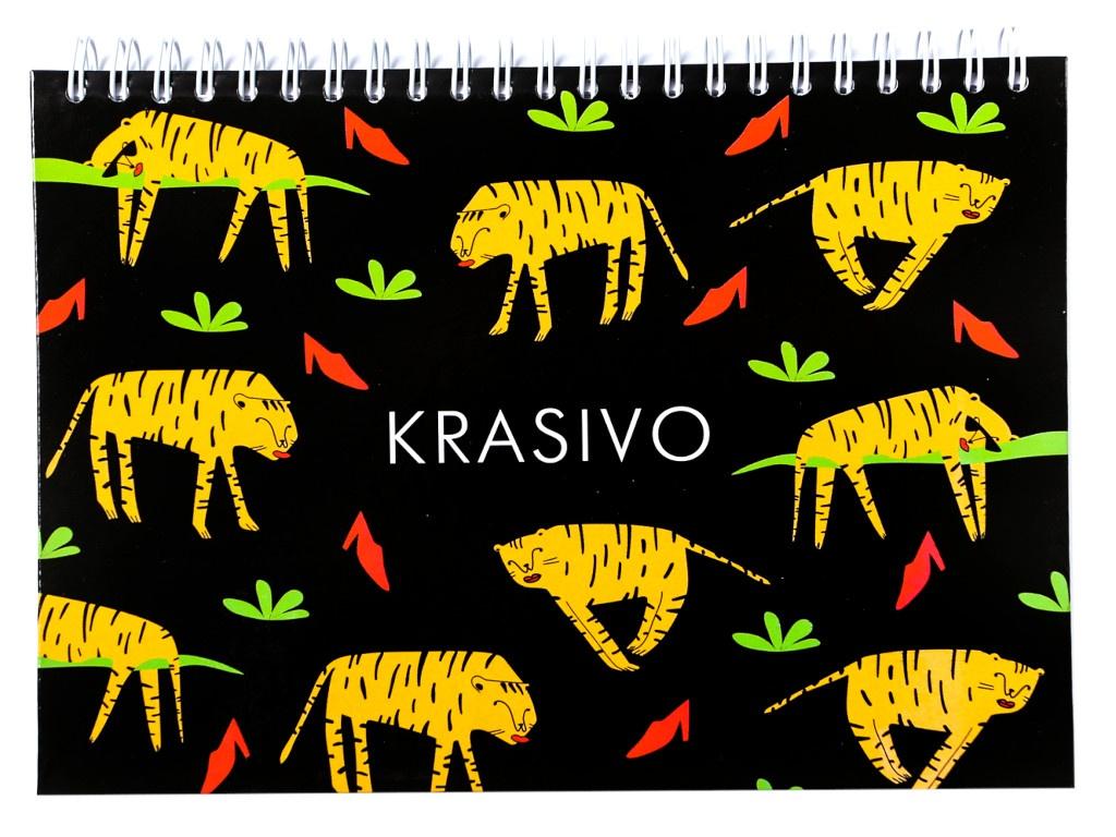 Скетчбук ArtFox Krasivo А5 80 листов 4388034