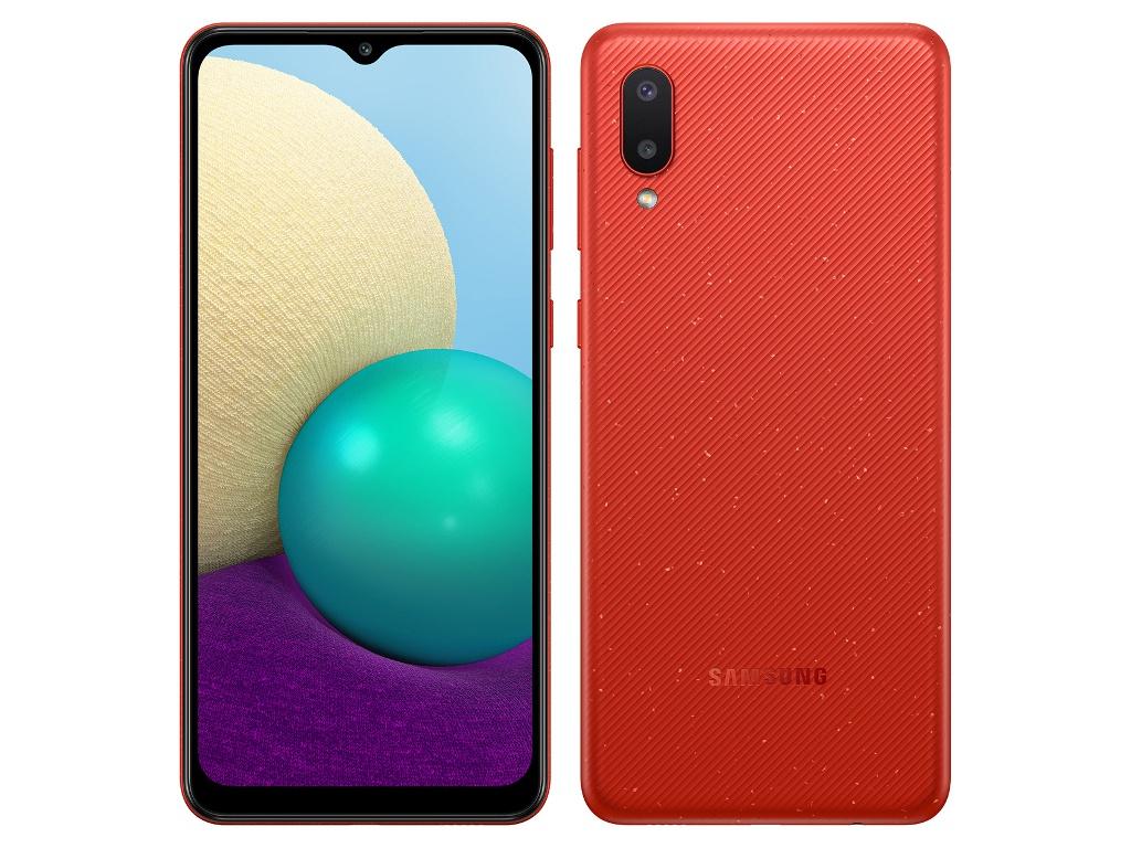Сотовый телефон Samsung SM-A022GZ Galaxy A02 2/32Gb Red сотовый телефон samsung sm a115f galaxy a11 2gb 32gb white