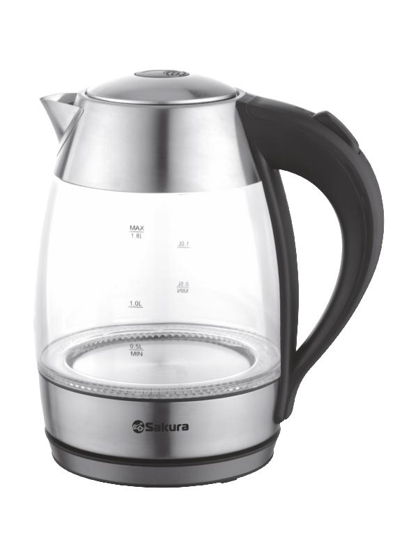Чайник Sakura SA-2727SBK 1.8L