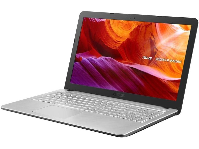 Ноутбук ASUS VivoBook R543BA-GQ886T Silver 90NB0IY6-M13040 Выгодный набор + серт. 200Р!!!(AMD A9-9425 3.1 GHz/8192Mb/256Gb SSD/AMD Radeon R5/Wi-Fi/Bluetooth/Cam/15.6/1366x768/Windows 10)
