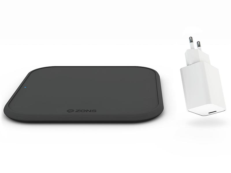 Зарядное устройство Zens Single Wireless Charger + USB-C PD 18W ZESC12BPD/00