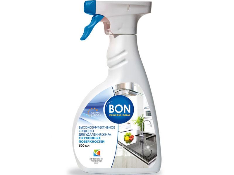 молочко чистящее для кухонных поверхностей clean home формула антизапах 290 г Чистящее средство для кухонных поверхностей Bon BN-156 500ml