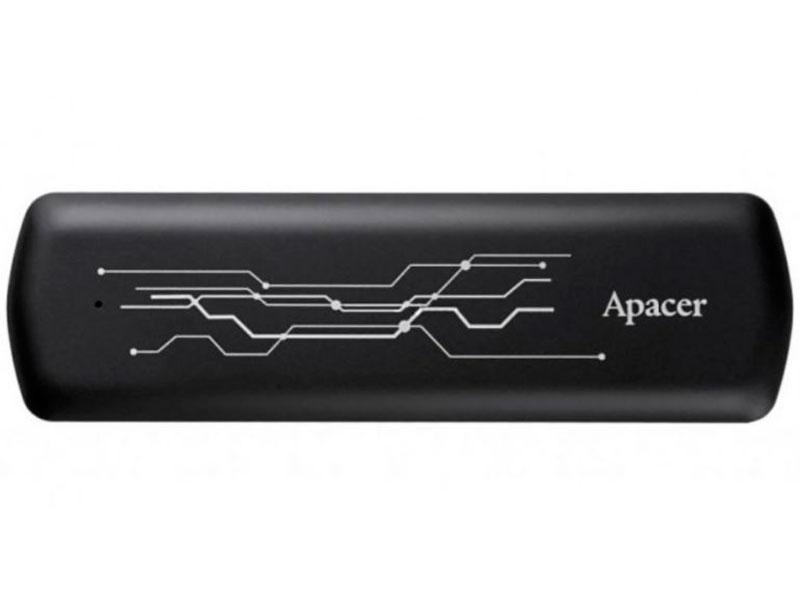 Твердотельный накопитель Apacer AS722 USB 3.2 Gen 2 USB-C Portable 512Gb AP512GAS722B-1