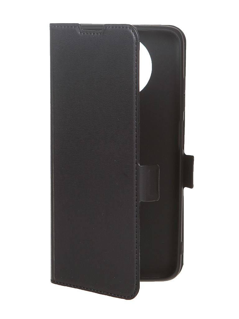 Чехол DF для Xiaomi Redmi Note 9T Black xiFlip-66