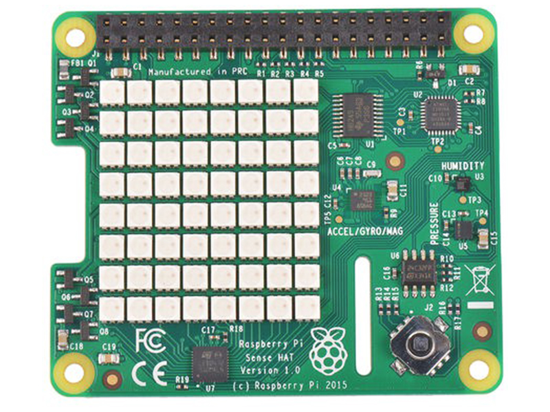 Плата ввода-вывода Raspberry Pi Sense Hat