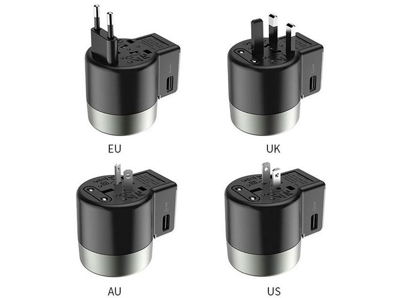 Зарядное устройство Hoco AC4 Universal Convertible 2.4A