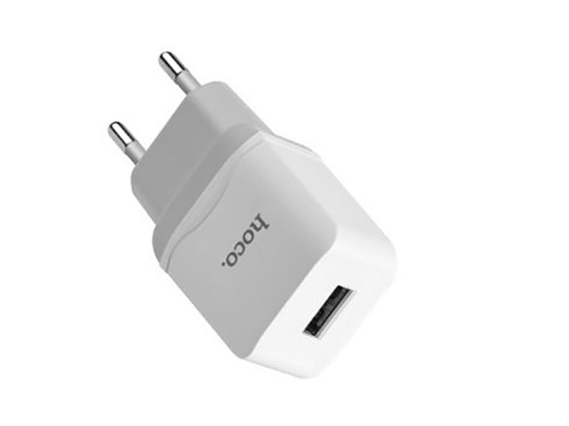 Зарядное устройство Hoco C22A Little 1xUSB 1A White